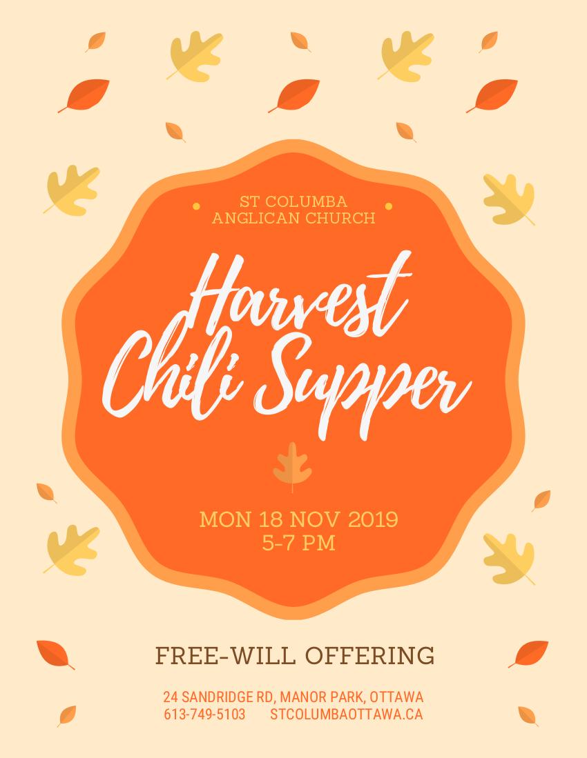 Harvest Chili Supper